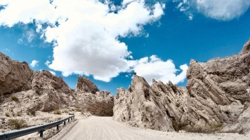 Quebrada blanca Ruta 40