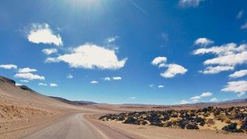 Lavabrocken bei Antofagasta de la Sierra