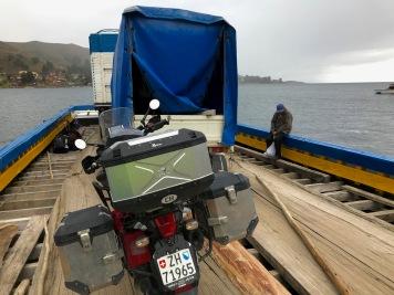 Titicacasee, Fähre