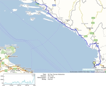 36.Tag: Durres-Makarska