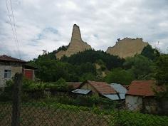 Bergdorf in Bulgarien