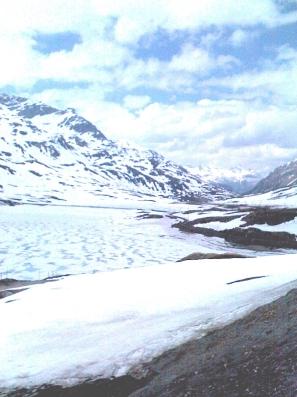 Berninapass am 19.Mai