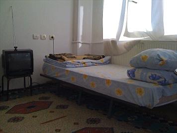 manchmal musste auch ein einfaches Zimmer genügen
