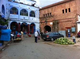 Chefchaouen, Markt