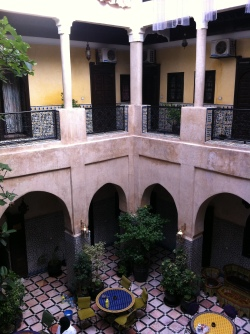 Patio im Riad Omar