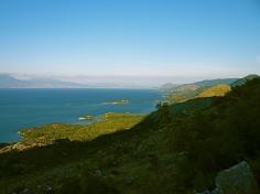 Südufer Shkoder See.