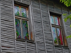 Sozopol, Fenstermalerei