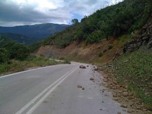 Strassenverhältnisse in Griechenland