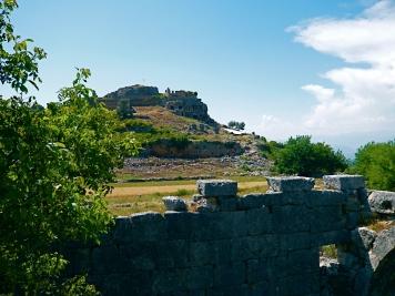 Tlos, eine antike Stadt in Lykien, Türkei
