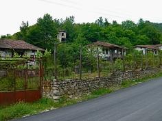 Typisch bulgarische Häuser