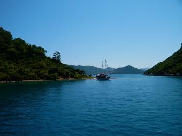 in der Bucht vor Fethiye