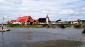 Maori Zentrum am Lake Rotorua