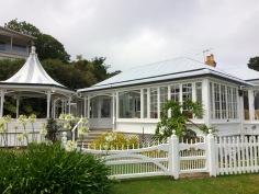 eine der ersten Villen in NZ