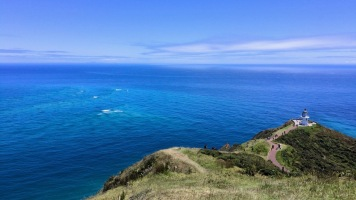 Dort wo Pazifik und Tasman Sea zusammen treffen