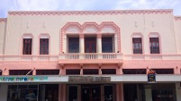 Napier, in pink