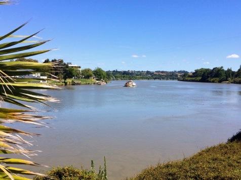 auf dem Whanganui River
