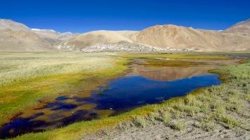Moriri Lake mit Karzok