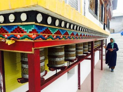 Gebetsmühlen in Leh