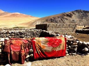 Basislager der Nomaden, Teppiche